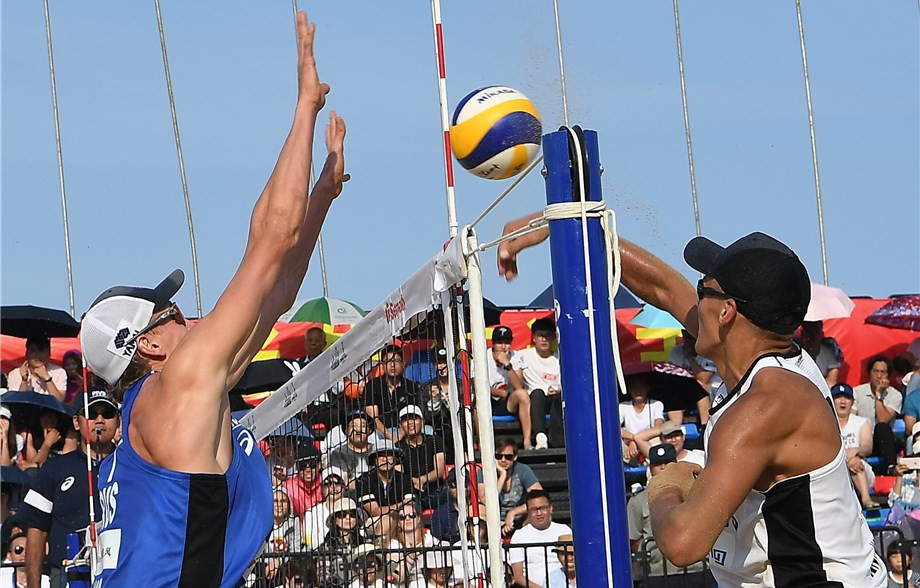 New team Stoyanovskiy and Velichko earn first gold at FIVB Beach World Tour Xiamen Open