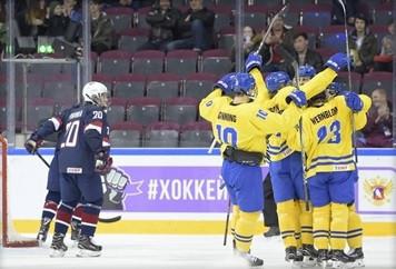 Wernblom scores twice as Sweden beat United States at IIHF U18 World Championship