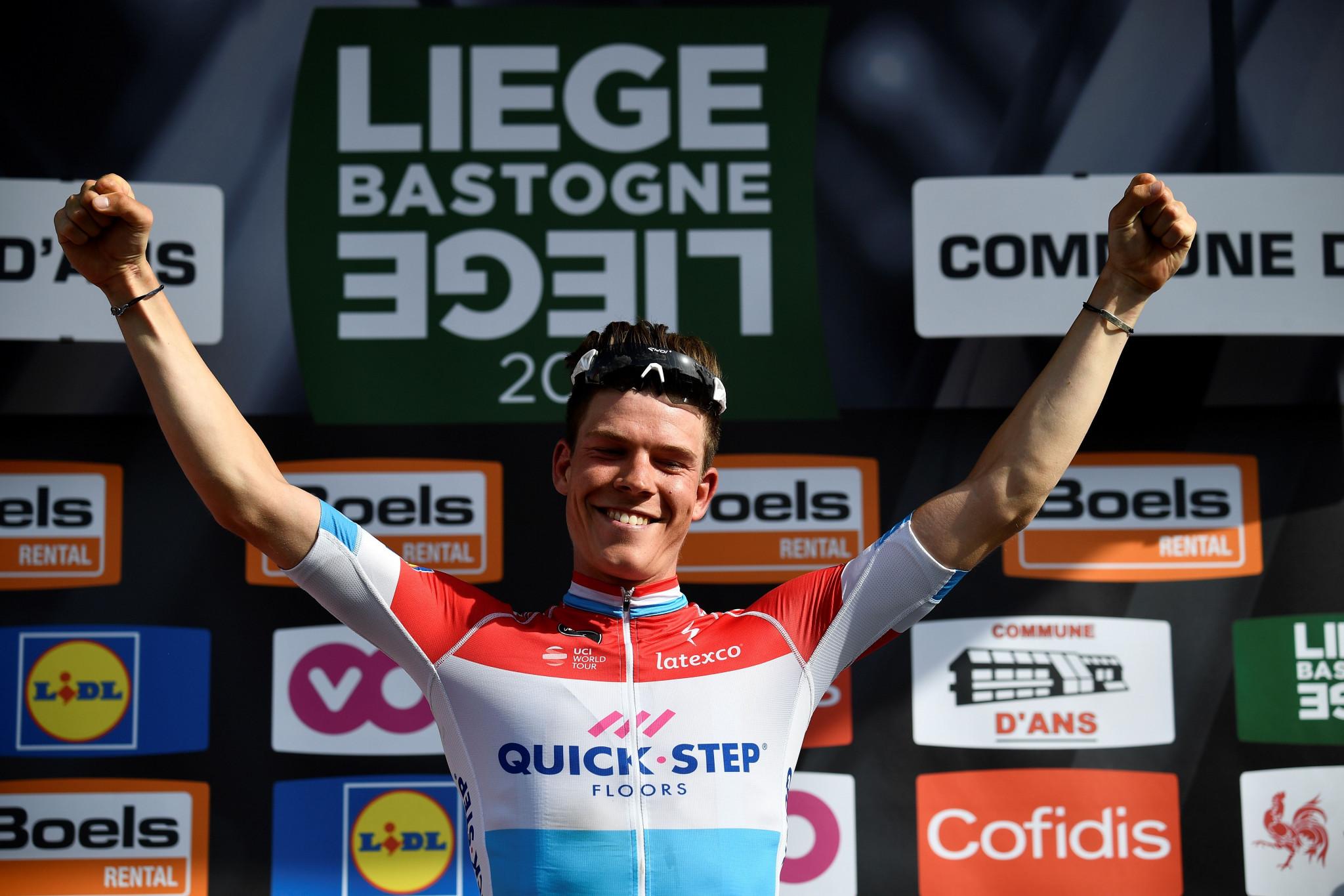 Jungels claims Liège-Bastogne-Liège title with bold solo effort