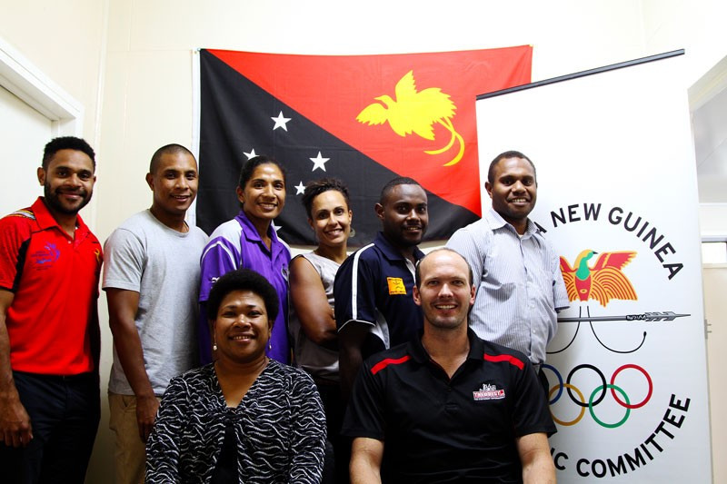 Karo Lelai has been appointed Chairperson of the Papua New Guinea Olympic Committee Athletes Commission ©PNGOC