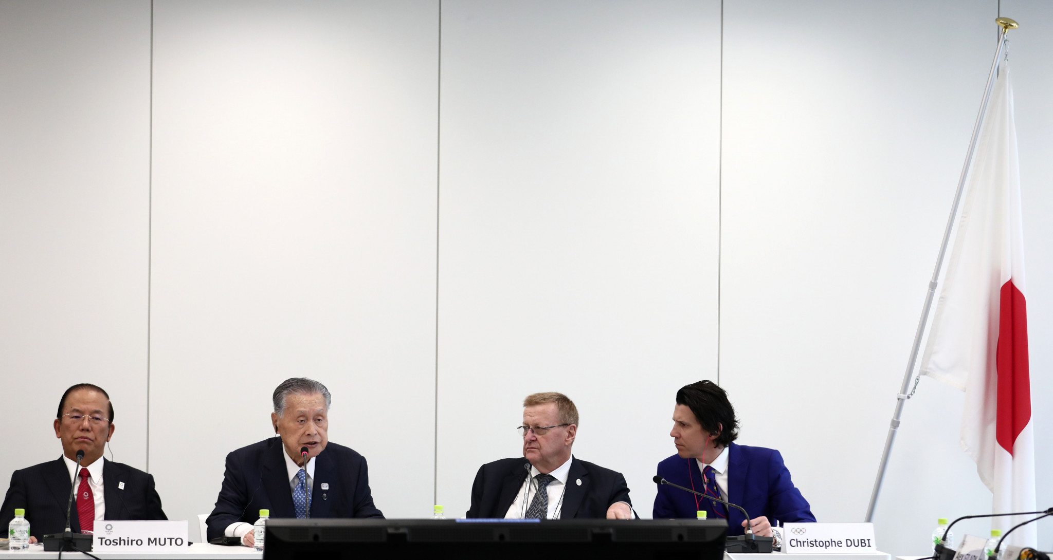 IOC Coordination Commission chairman John Coates delivered a warning that Tokyo 2020 need to address concerns of International Federations and National Olympic Committees during the opening of the Project Review ©Getty Images