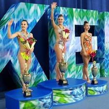 Soldatova sweeps individual events at FIG Rhythmic Gymnastics World Cup in Tashkent