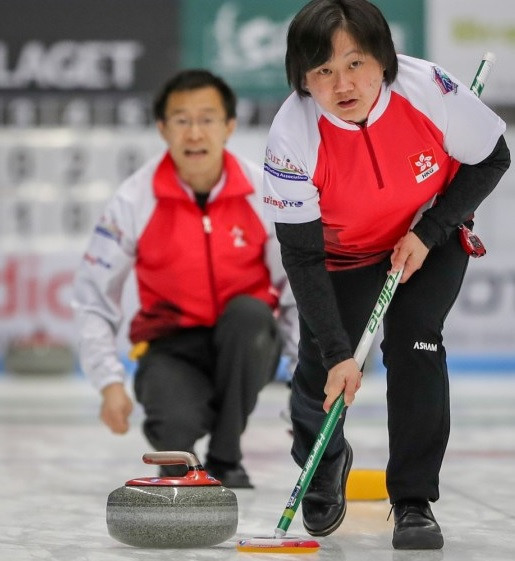 Hong Kong claim historic first victory at World Mixed Doubles Curling Championship