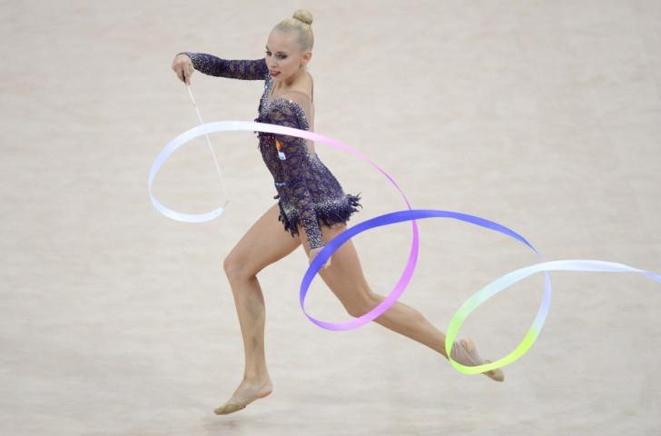 Kudryavtseva tops ribbon qualification standings at Rhythmic Gymnastics World Championships