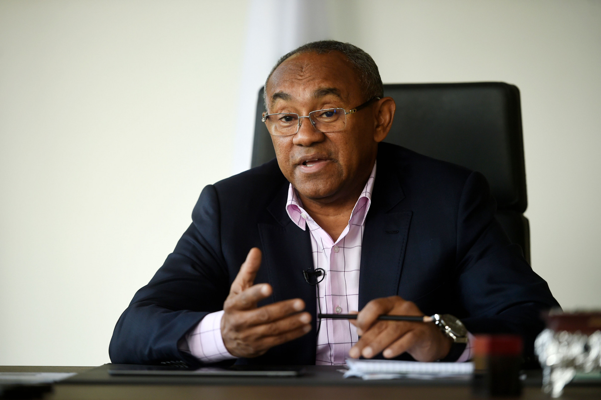 CAF President Ahmad has offered Europe a vote-trading deal in an effort to secure support for Morocco 2026 ©Getty Images