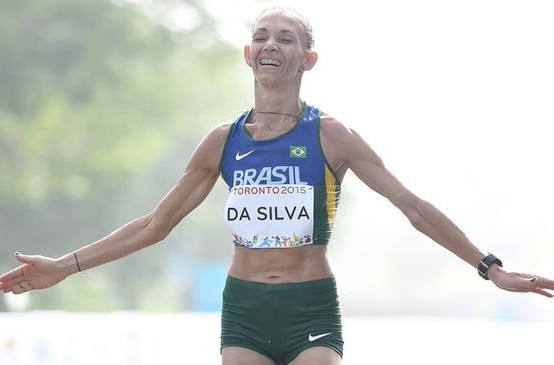 Adriana Aparecida da Silva of Brazil is set to win gold for the second Games in a row ©Twitter