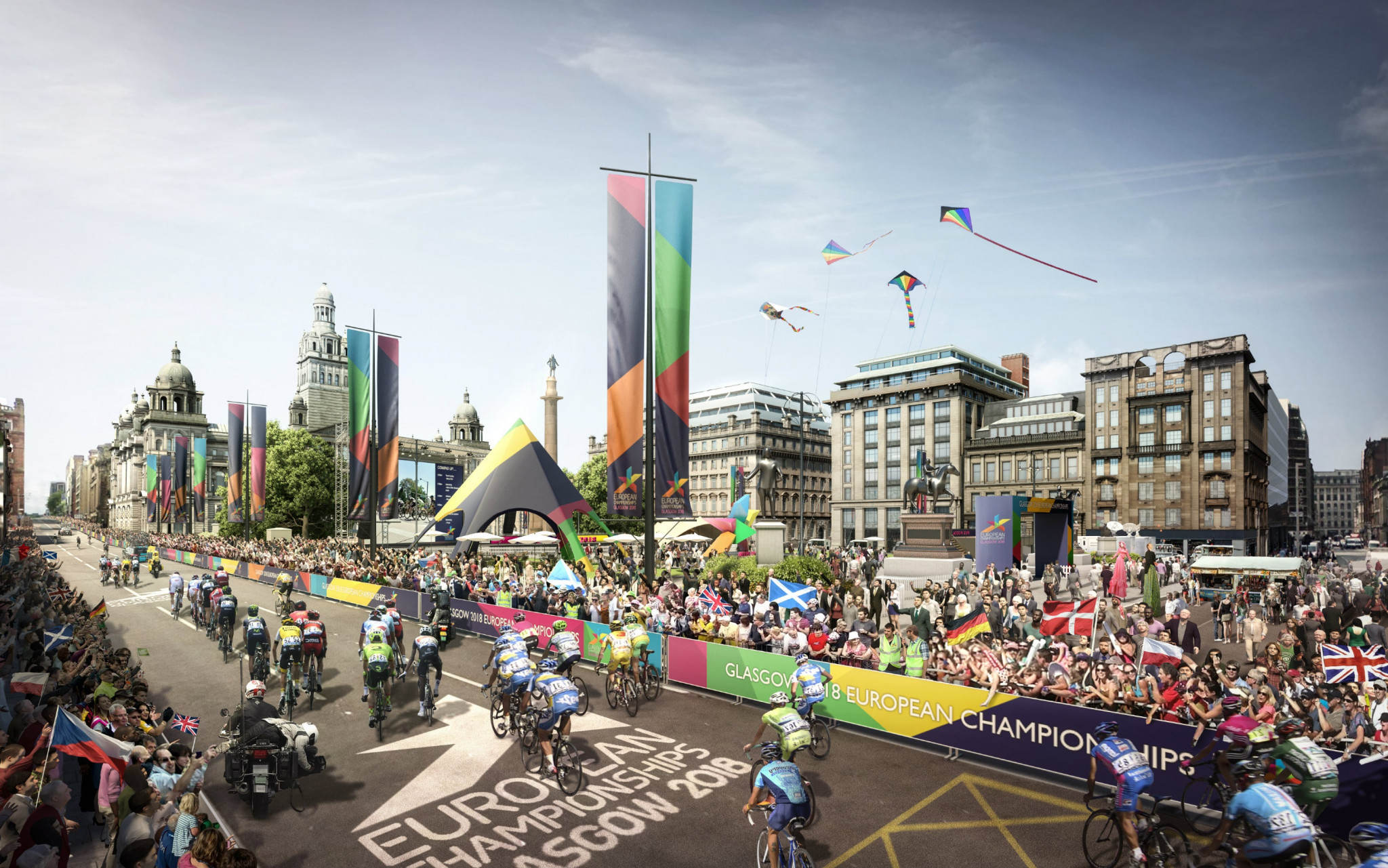 Glasgow 2018 organisers claim million people expected to be part of event with 100 days to go