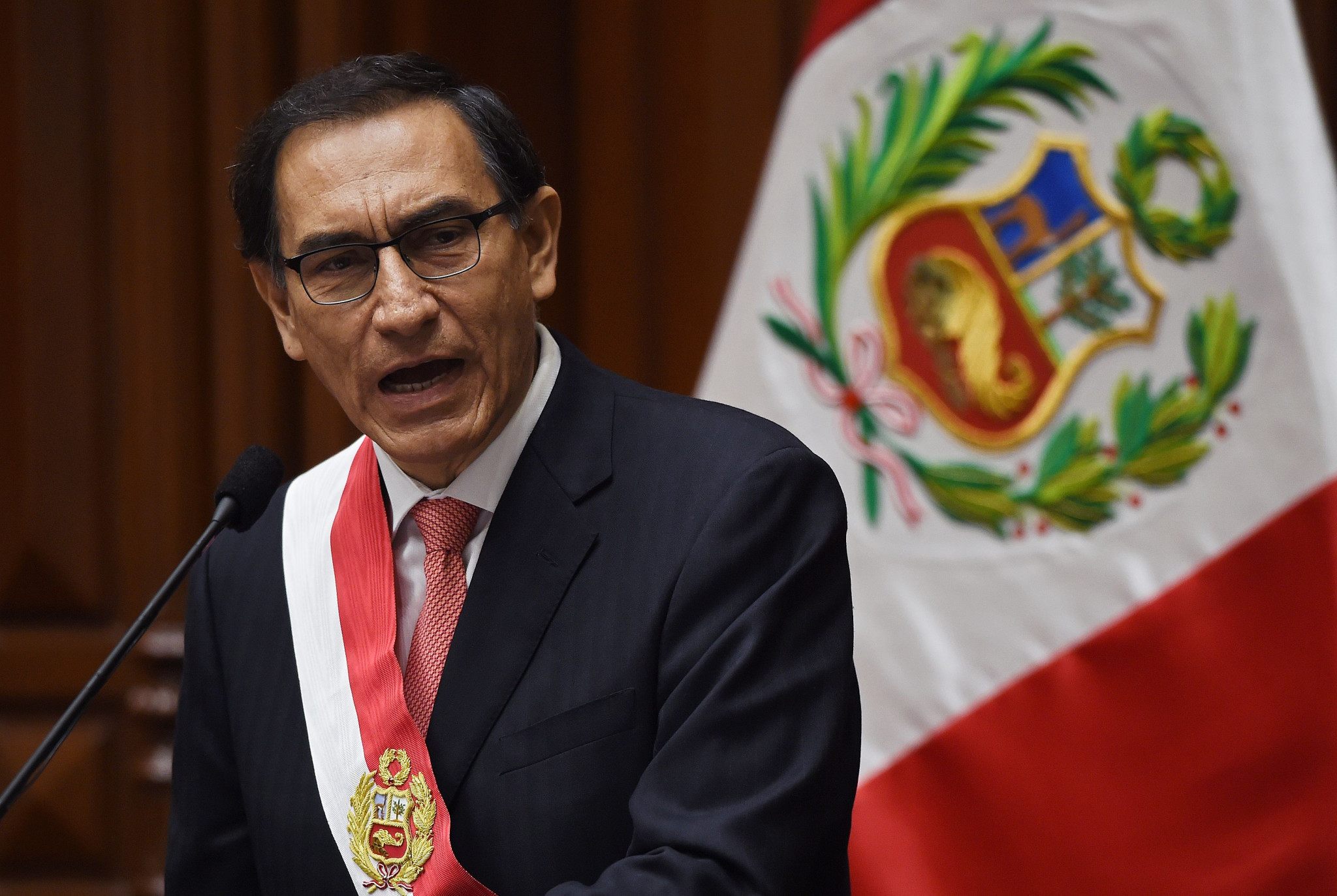 President Martín Vizcarra Cornejo assumed office last month ©Getty Images