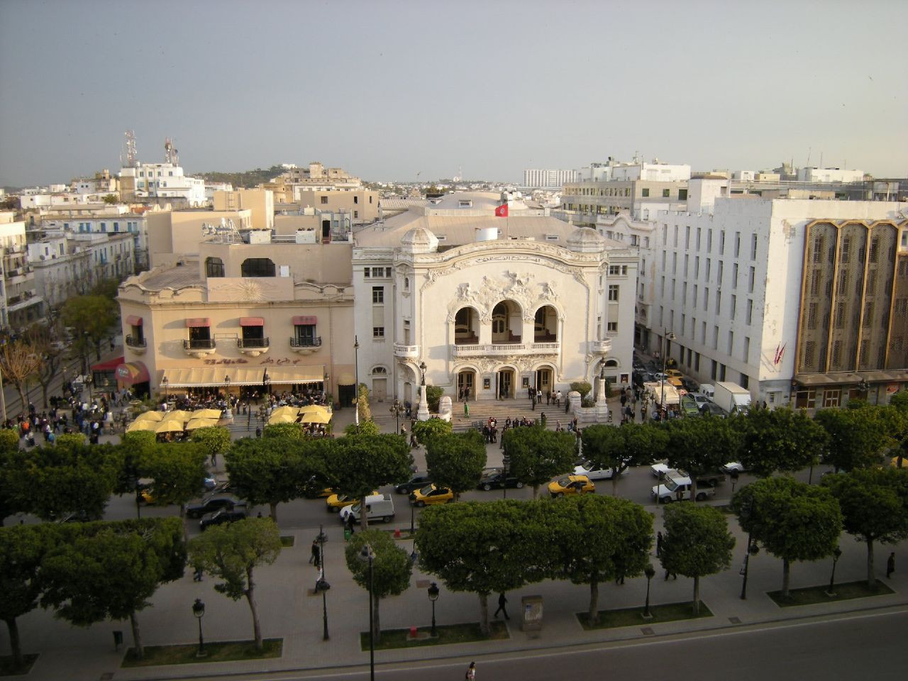 Tunisia's capital Tunis has recently emerged as a potential host of the 2022 Summer YOG ©Wikipedia