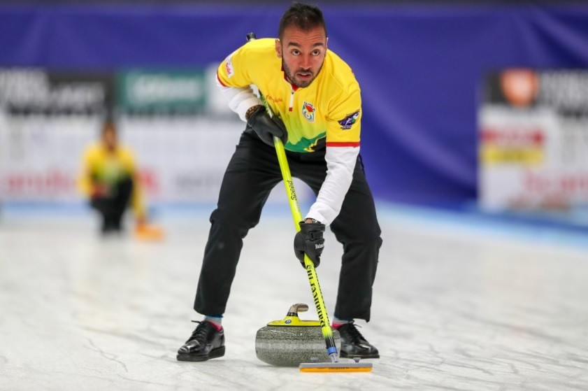 Guyana shock Austria to claim first ever World Mixed Doubles Curling Championship victory