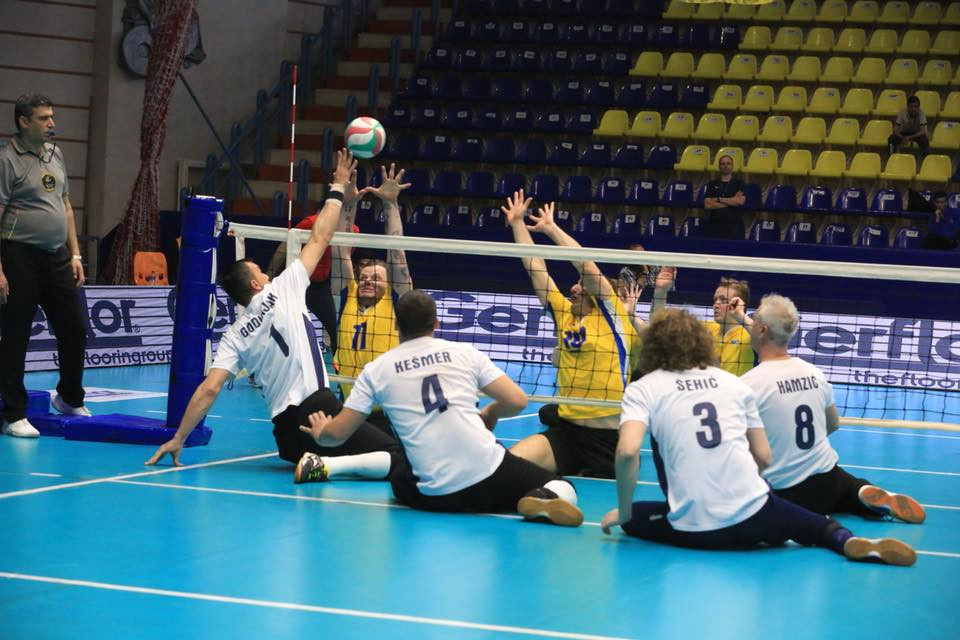 Bosnia and Herzegovina defeated Ukraine in the bronze medal match ©World ParaVolley/Facebook