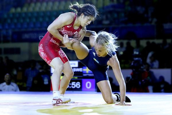 2015 Wrestling World Championships: Day three of competition