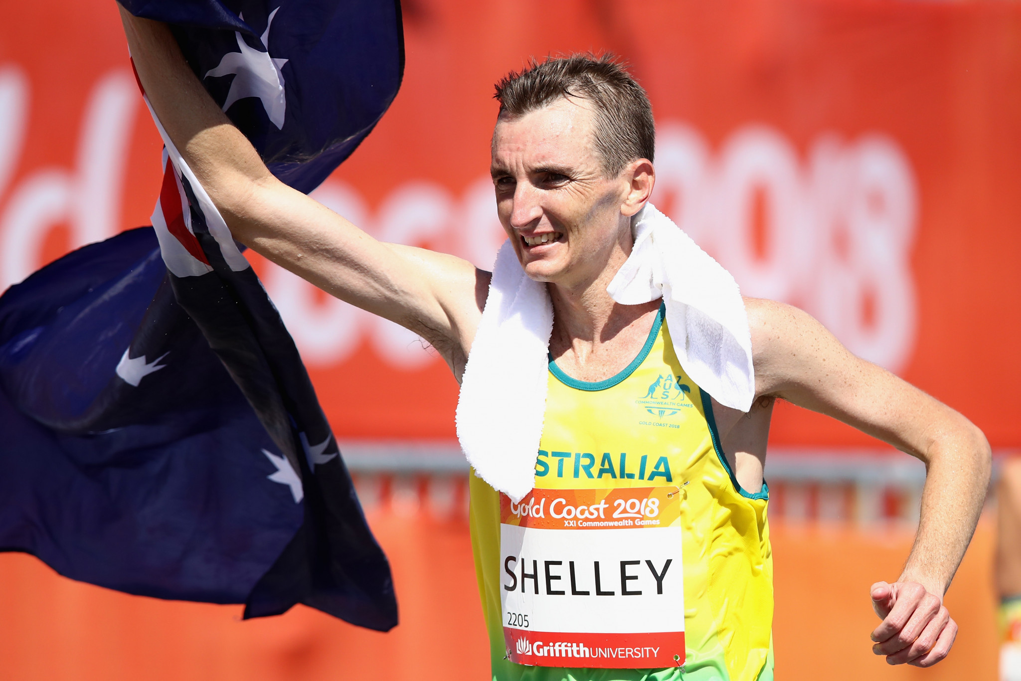 Australia's Chef de Mission Steve Moneghetti has defended Michael Shelley against the criticism he received after his victory in the Commonwealth Games marathon ©Getty Images