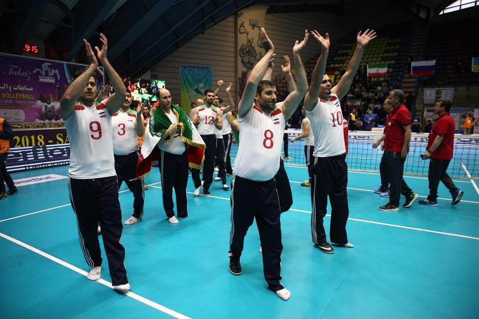 Hosts Iran beat Russia in the final of the World Super 6 sitting volleyball event in Tabriz ©World ParaVolley/Facebook