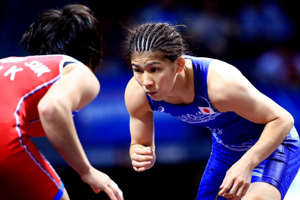 Yoshida bags 13th world title as Japan's women deliver the goods at Wrestling World Championships