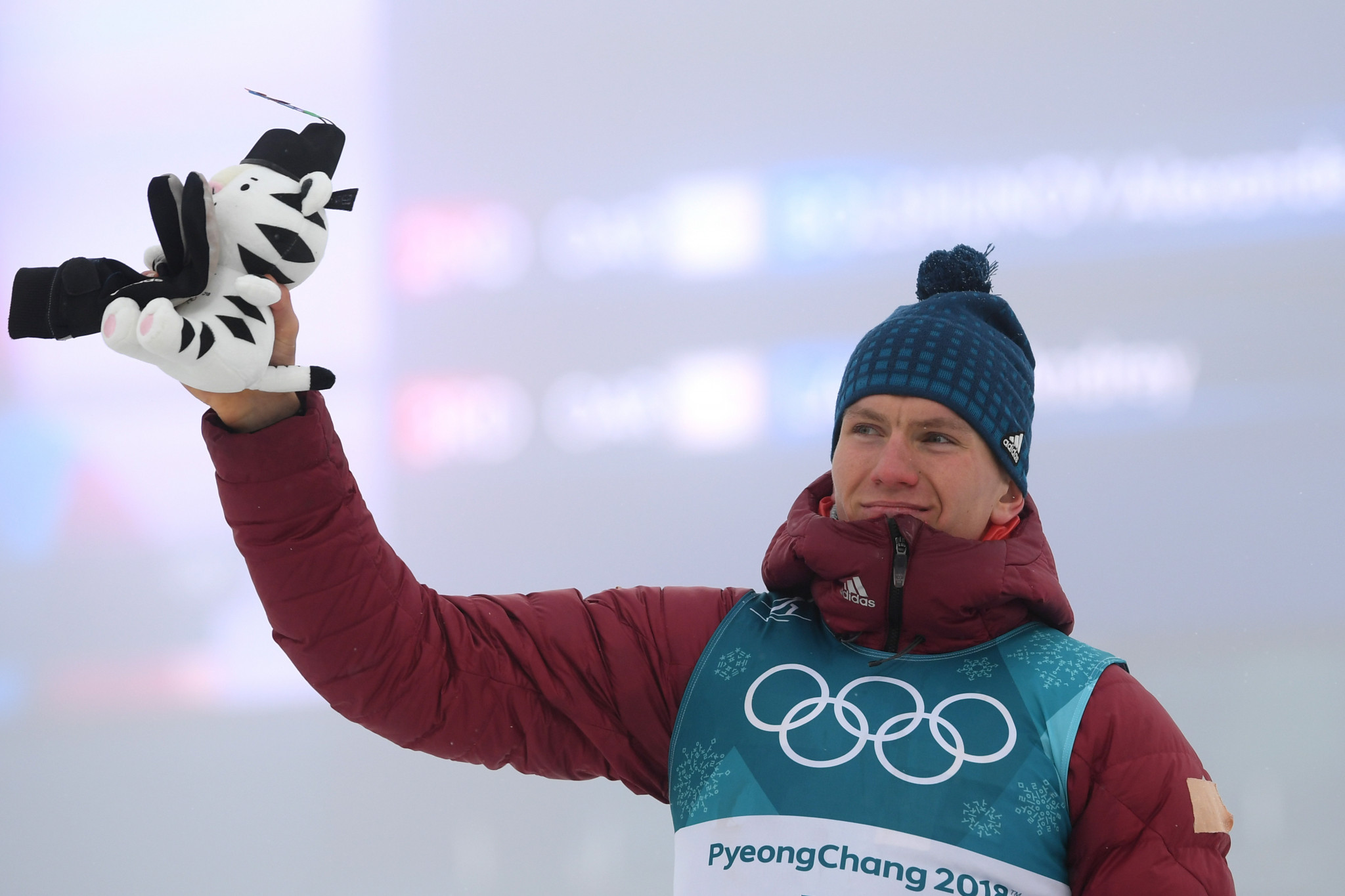 Alexander Bolshunov was one of three OAR cross-country skiing silver medal winners in Pyeongchang ©Getty Images