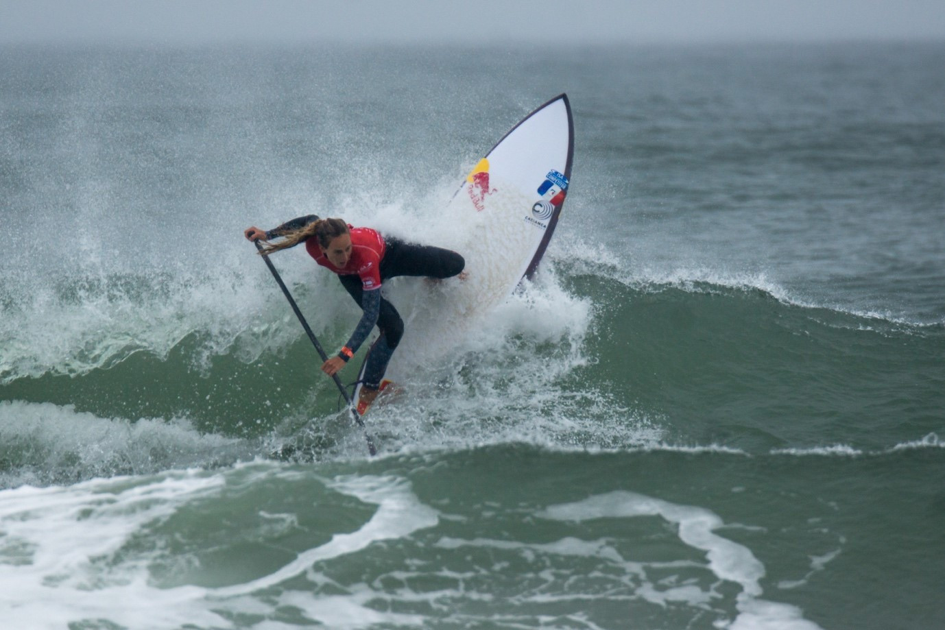 Justine Dupont will lead the ISA's Athletes' Commission ©ISA