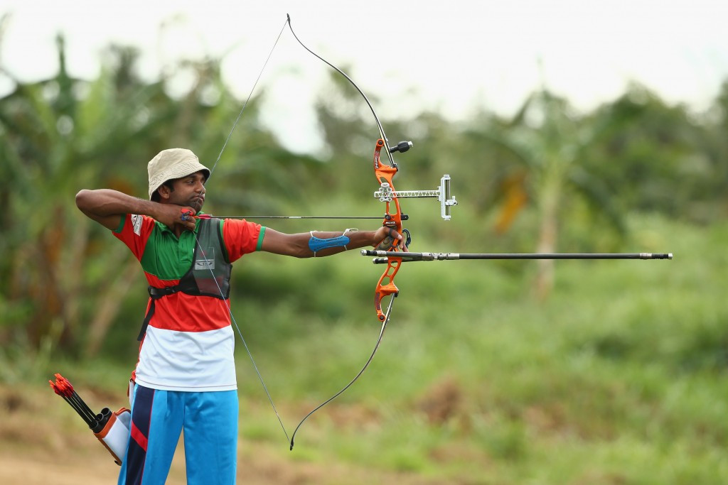 Mohammad Tamimul Islam secured Bangladesh's first gold of the Games as he won the boy's archery competition