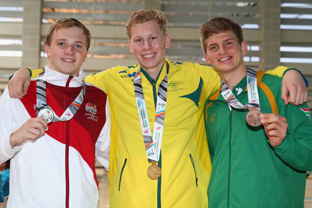 World youth champion Lewis bags Samoa 2015 gold on final night of swimming finals