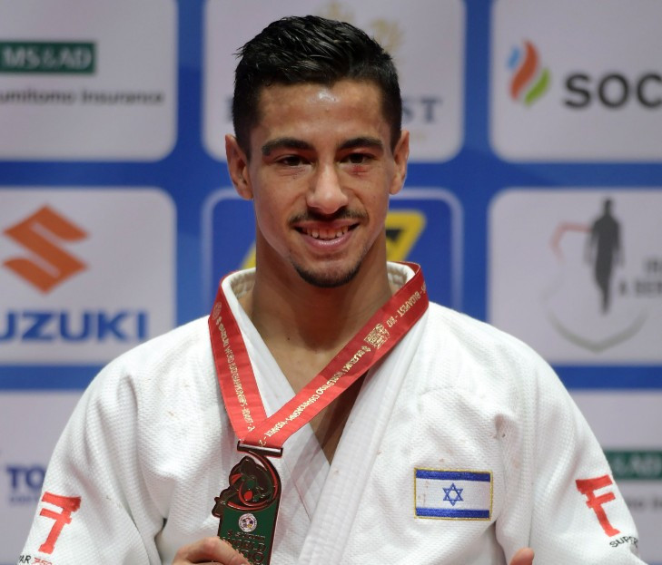 Israeli judoka hopes politics take a back seat with Tel Aviv ready to host European Championships