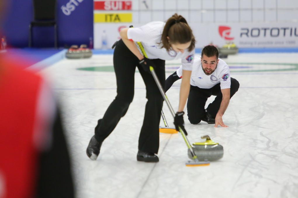 Italy beat Switzerland to reach World Mixed Doubles Curling Championships playoffs