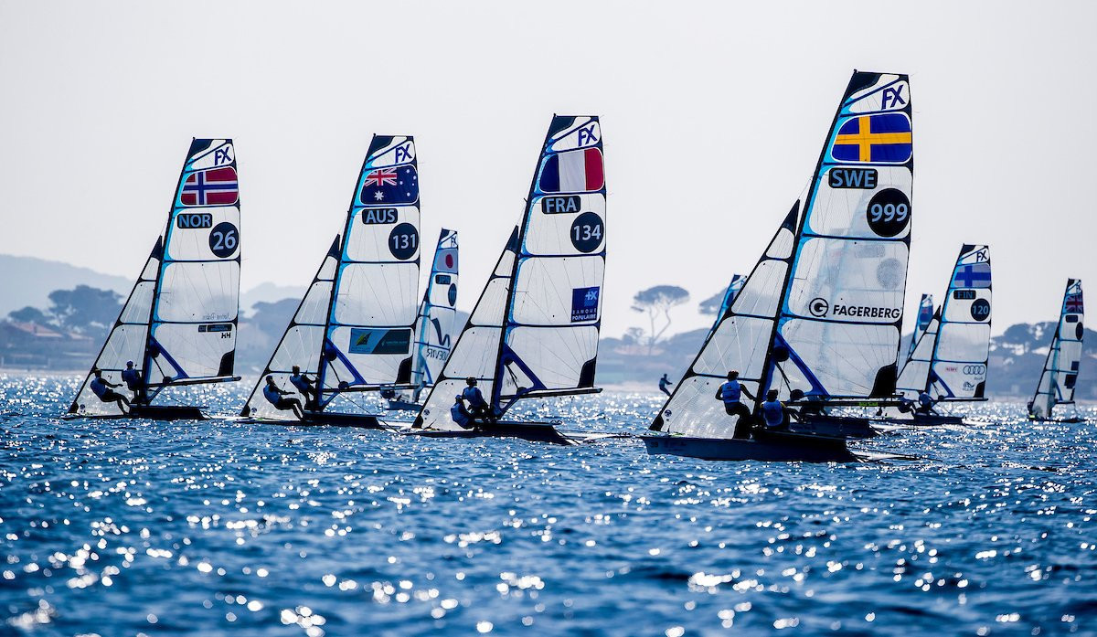Bouwmeester battles into laser radial lead at Sailing World Cup