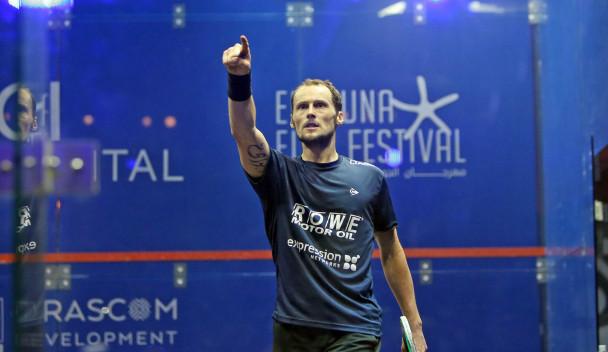 Defending champion Gaultier wins four-game thriller to reach El Gouna International semi-finals