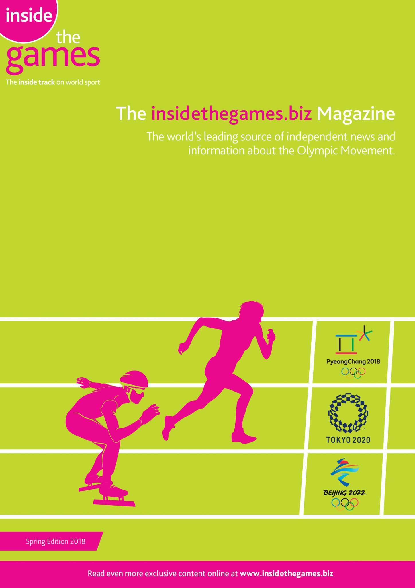 The insidethegames.biz Magazine Spring Edition 2018
