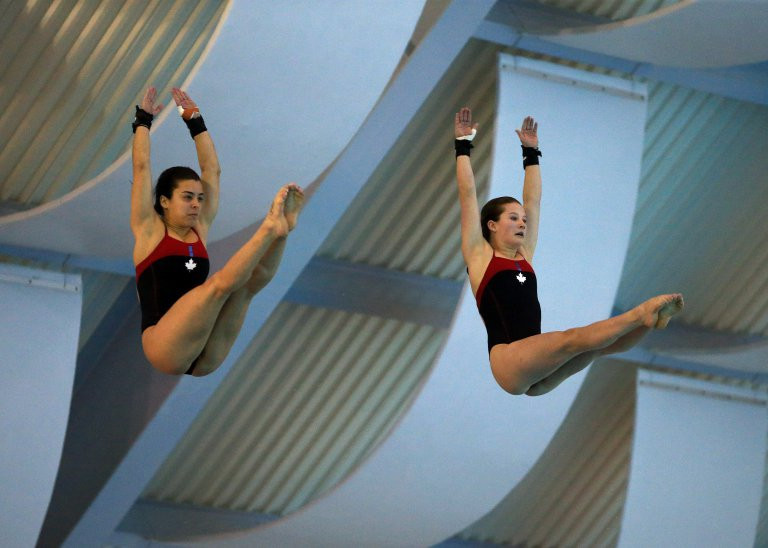The latest leg of the FINA Diving World Series takes place in Montreal ©FINA