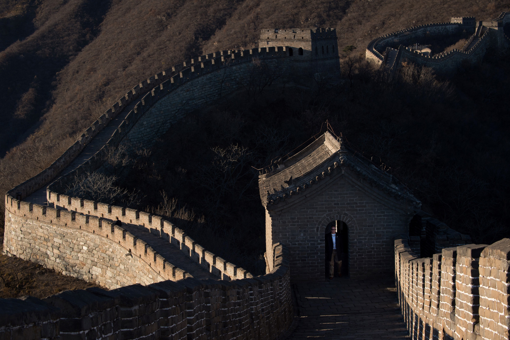 There are fears that the new line could impact the Great Wall of China ©Getty Images