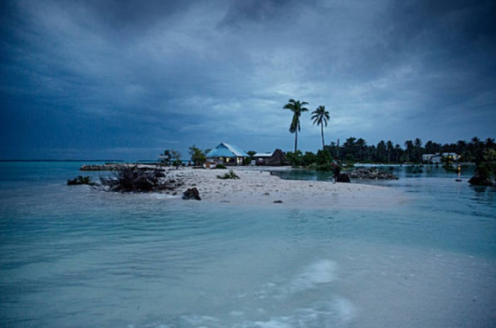 Kiribati is threatened by rising sea levels and global warming ©Getty Images