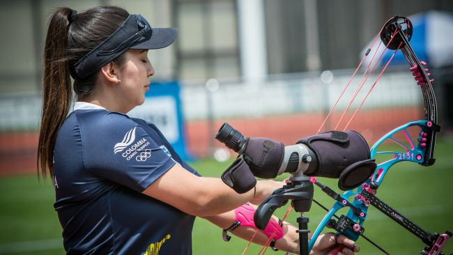 Sara Lopez is looking for her fourth Shanghai title in a row ©World Archery
