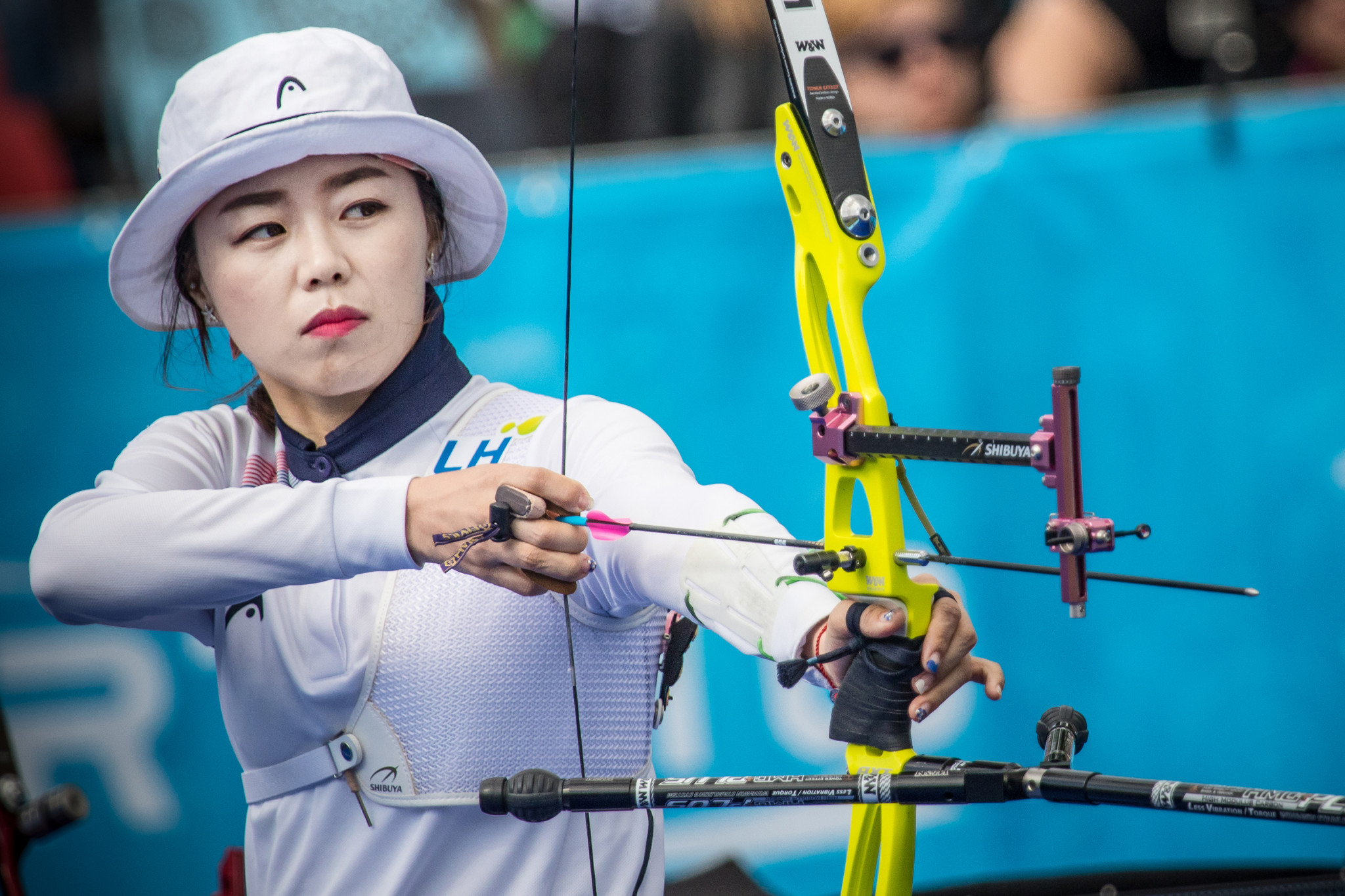 Chang Hye Jin was one of several South Korean archers to perform well in Shanghai ©Getty Images
