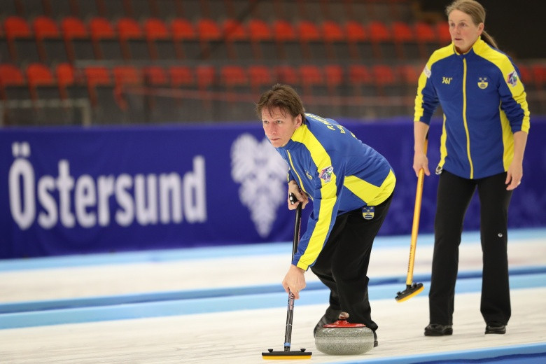Sweden also continued their imperious form on home ice ©WCF/Richard Gray