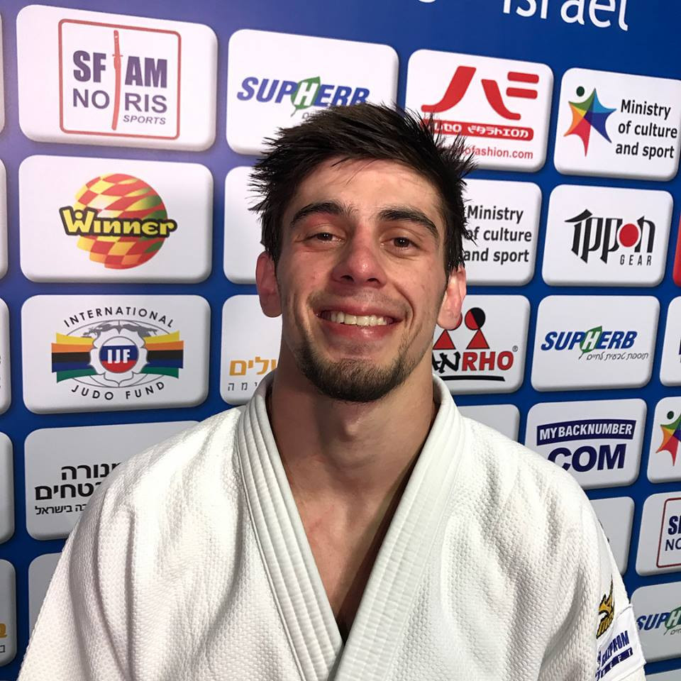 Islam Yashuev won Russia's third title of the day ©European Judo Union/Facebook