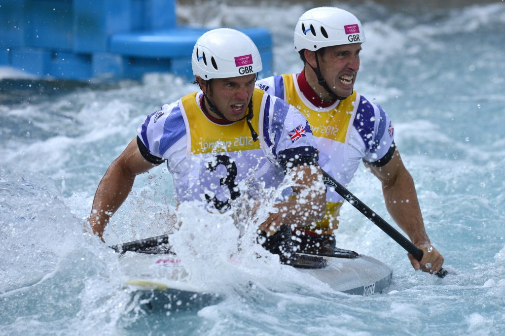 Etienne Stott and former crew mate Tim Baillie won men's C2 gold at the London 2012 Olympics