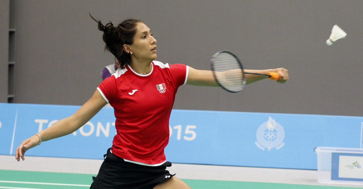 Mariana Ugalde contributed to a successful day for Mexico at the Pan American Badminton Championships ©BWF
