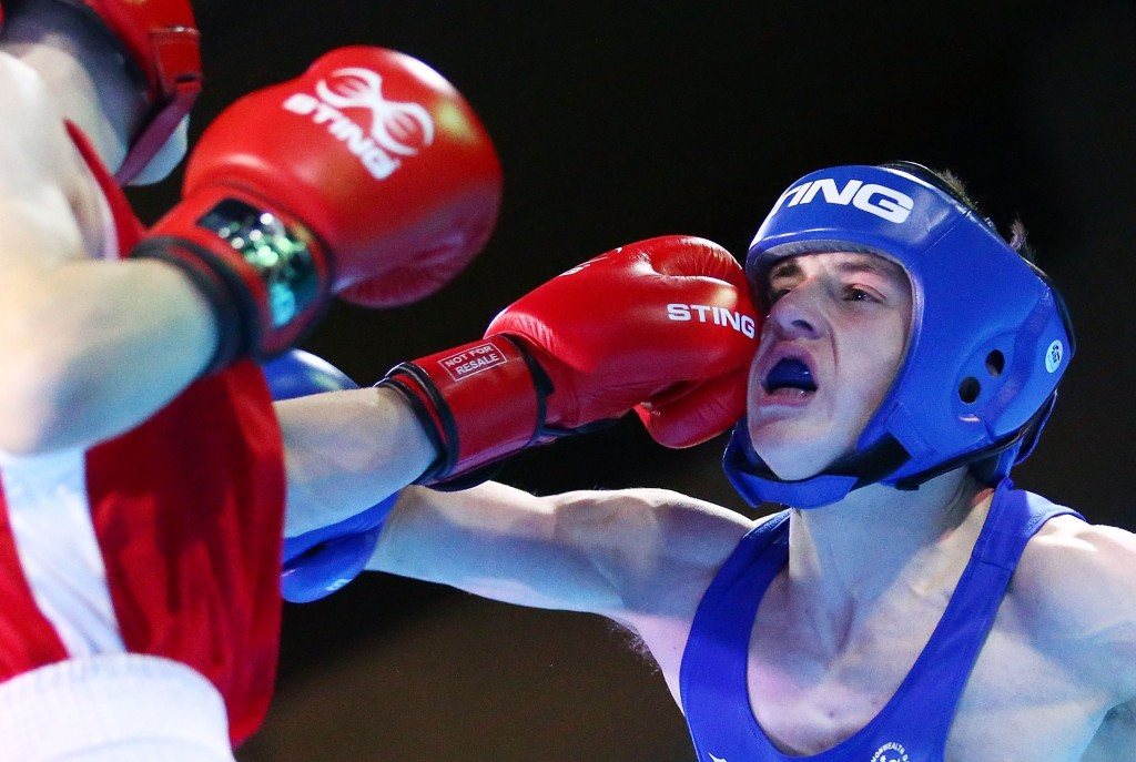 Light flyweight Stephen McKenna was won of three Northern Irish gold medallists in the boxing competition