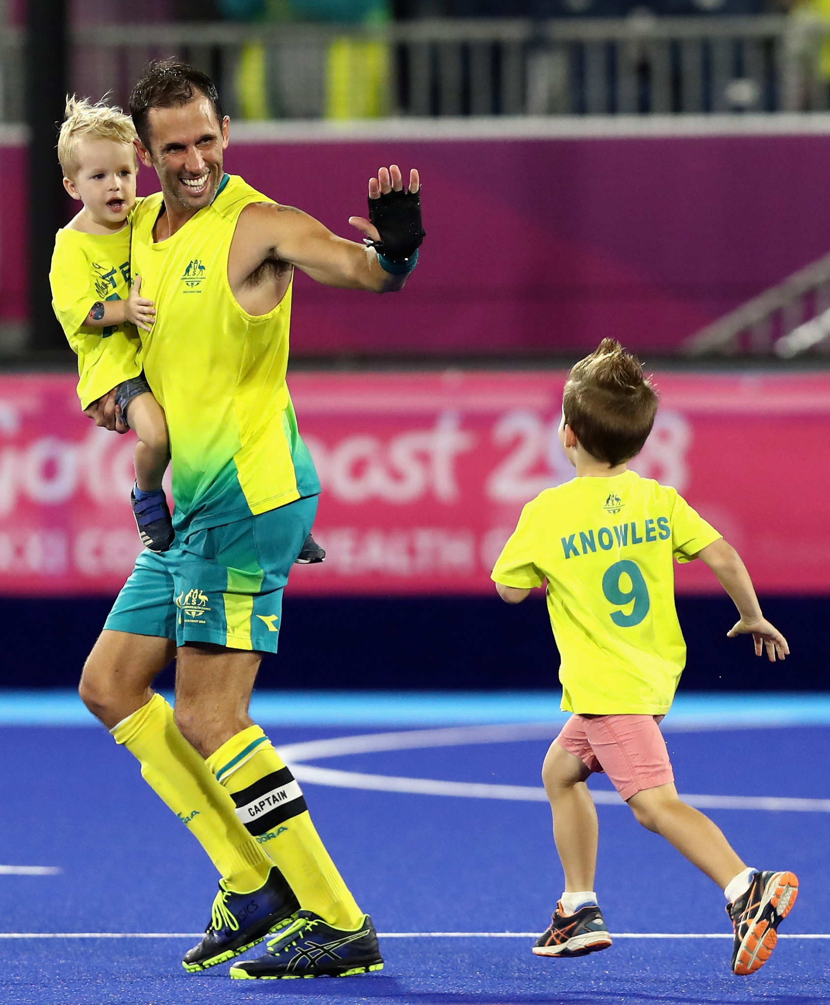 Keynote speakers include Mark Knowles, who ended his career earlier this month by captaining Australia to the men's hockey title at the Gold Coast 2018 Commonwealth Games ©Getty Images