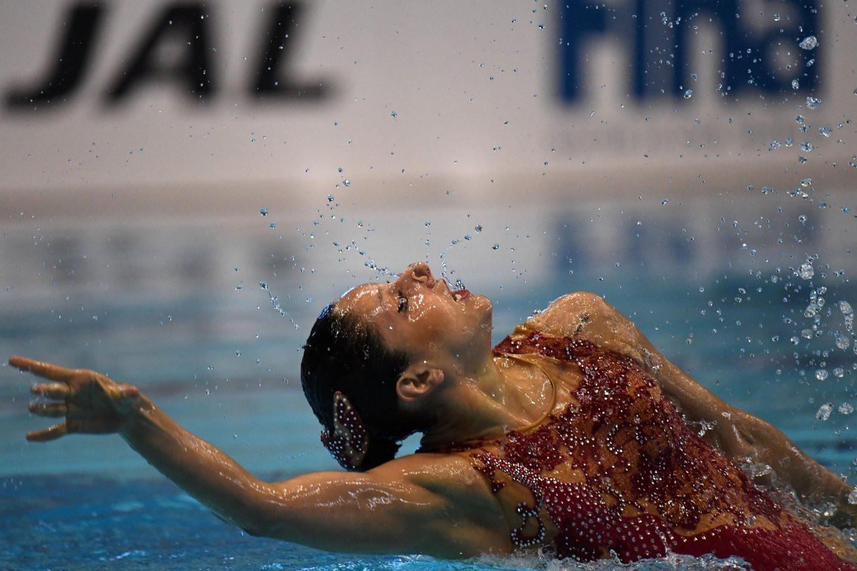 Yukiko Inui dominated the solo technical event ©FINA/Hiroyuki Nakamura