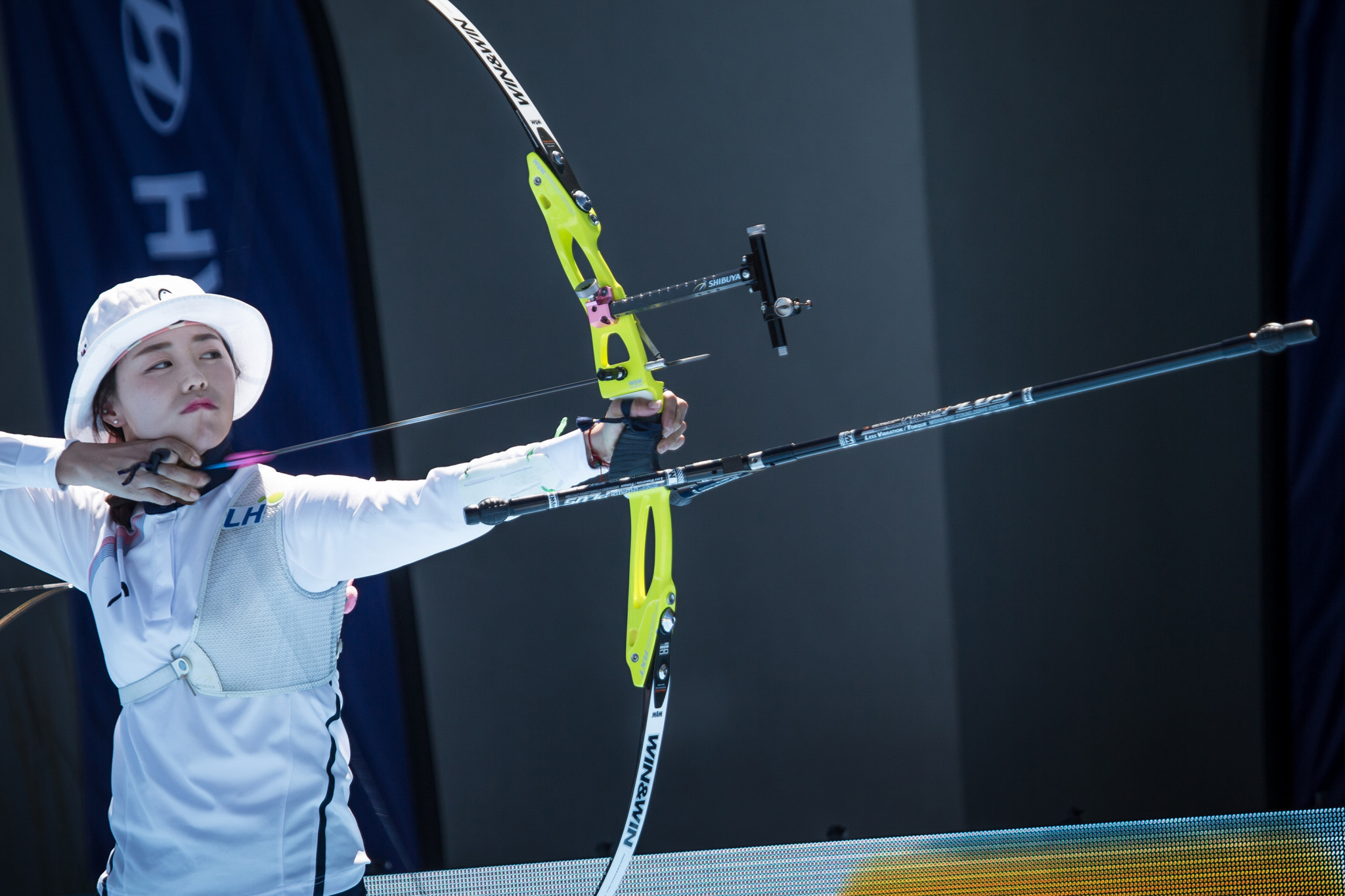 Chang Hye Jin helped South Korea reach the mixed recurve final ©Getty Images