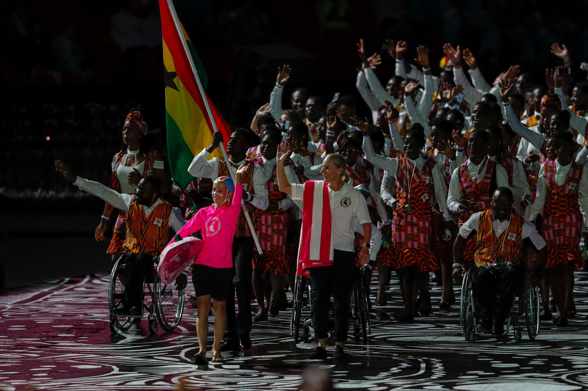 At least three and potentially five Ghanaian athletes have failed to return home ©Getty Images