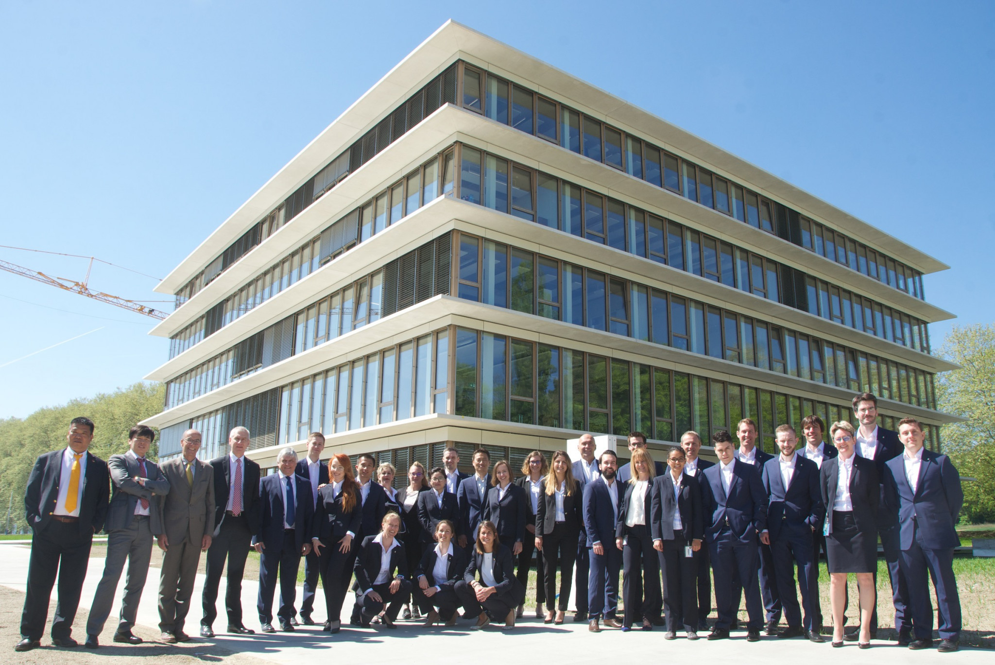 FISU officially open new headquarters in Lausanne