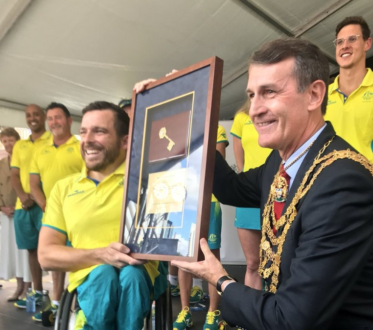 Australian athletes from Gold Coast 2018 honoured in Brisbane