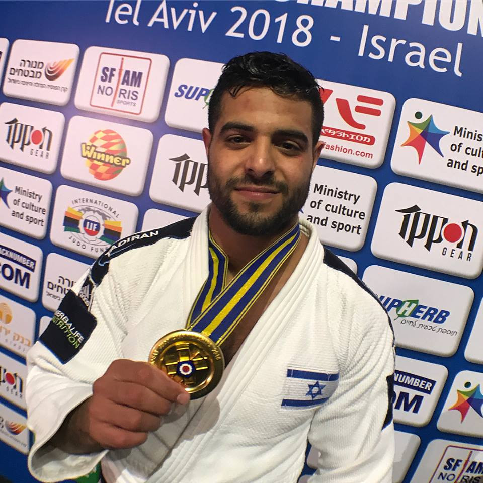 Home favourite triumphs at European Judo Championships in Tel Aviv