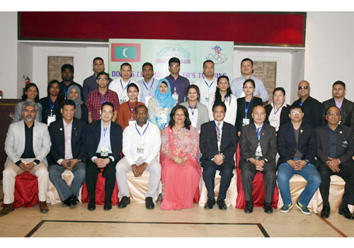 Nepal Olympic Committee organise doping control training day