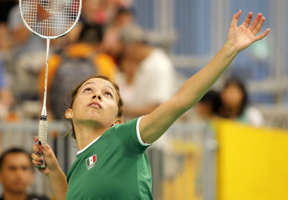 Mexico's Haramara Gaitan is the only non-Canadian to reach the women's singles semi-finals at the Pan American Badminton Championships ©BWF