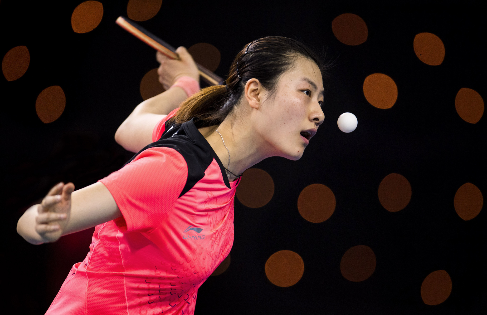 Ding Ning will lead China's defence of the women's title at the ITTF World Team Championships in Halmstad ©Getty Images