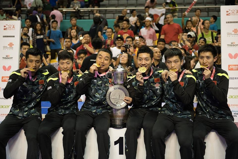 China seeking to extend ITTF World Team Table Tennis Championships dominance in Sweden