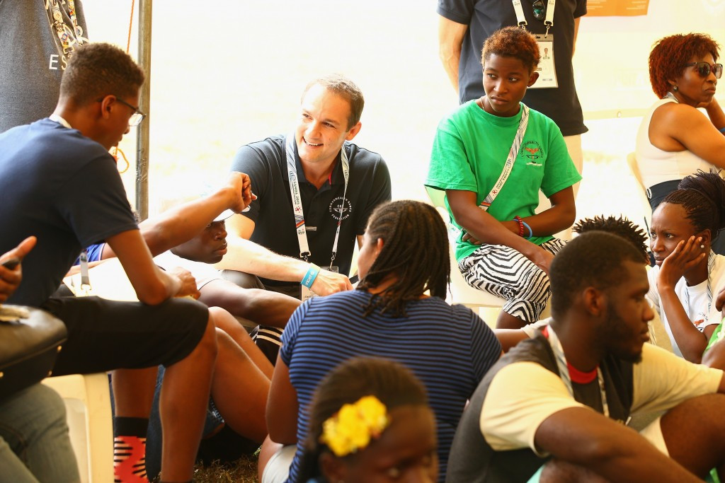David Grevemberg CBE, chief executive of the Commonwealth Games Federationis is delighted to have delivered a partnership with Unicef that has impacted on more than 11.6 million children ©Getty Images